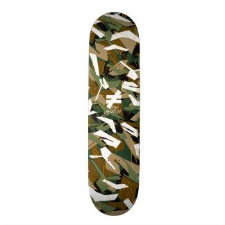 Esvoir Camo Mark 3 Winter Is C*mming Skateboard Deck