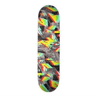 Esvoir Trippy Camo Skate Board