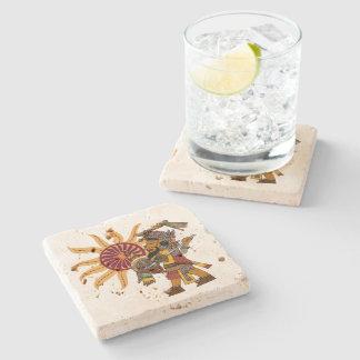 Et Peyum Stone Beverage Coaster