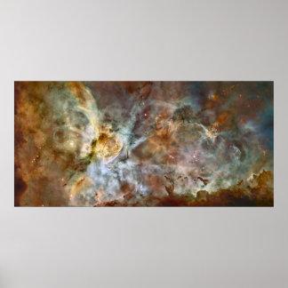 Eta Carinae Nebula Poster