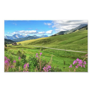 Etale/Col de Merdassier, French Alps Photo Print