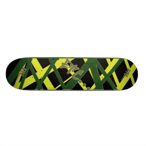 etc... Style Jamaica Web Custom Skate Board