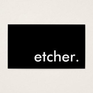 etcher.