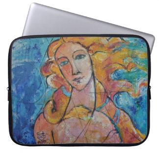 """Eternal beauty"" padded laptop marries Laptop Sleeve"