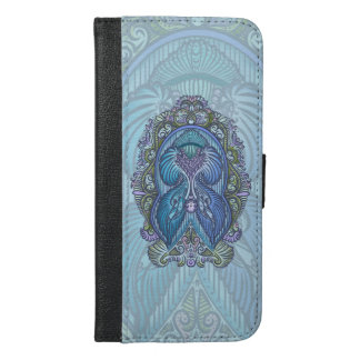 Eternal birth, new age, bohemian iPhone 6/6s plus wallet case