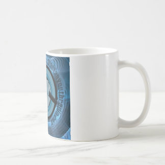Eternal Blue Gyre Coffee Mug
