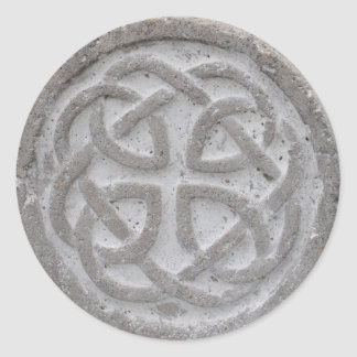 Eternal Celtic Knot Stone Envelope Seal