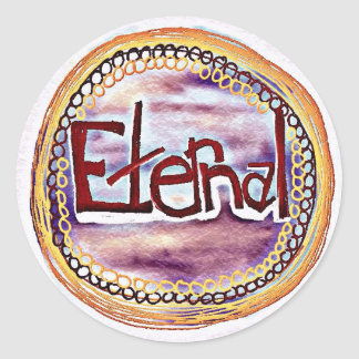 Eternal Classic Round Sticker