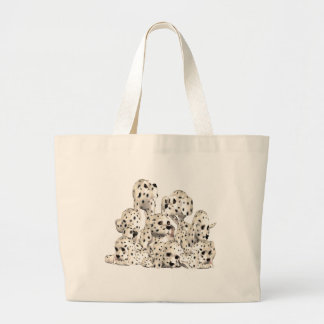 Eternal Dalmatian Large Tote Bag