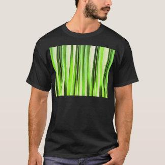Eternal Evergreen Stripy Pattern T-Shirt
