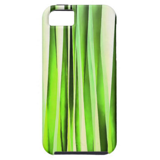 Eternal Evergreen Stripy Pattern Tough iPhone 5 Case