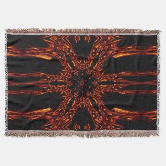 Eternal Flame Flowers 3 SDL Throw Blanket