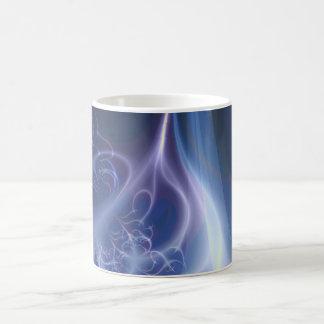 Eternal Flame Fractal Classic White Coffee Mug