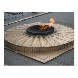 Eternal flame postcard