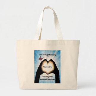 Eternal Hand Heart Tote Bag