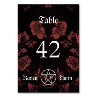 Eternal Handfasting/Wedding Pentacle Mauve Ste Card