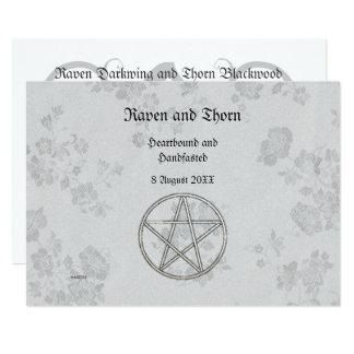 Eternal Handfasting/Wedding Pentacle Suite Card