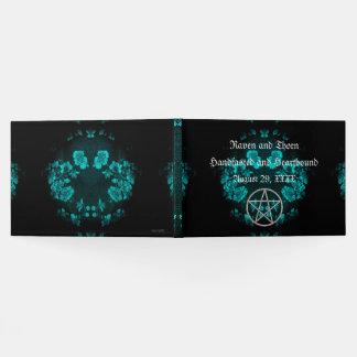 Eternal Handfasting/Wedding Pentacle Turquoise Ste Guest Book
