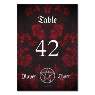 Eternal Handfasting/Wedding Suite Pentacle Card