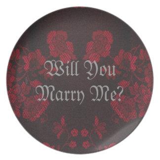 Eternal Handfasting/Wedding Suite Plate