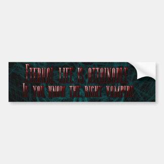 Eternal Life Is Attainable Bumper Sticker