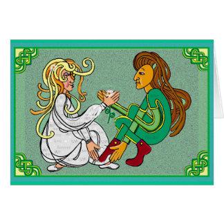 Eternal love handfast marriage card