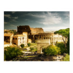 Eternal Rome in view of Colosseum Postcard