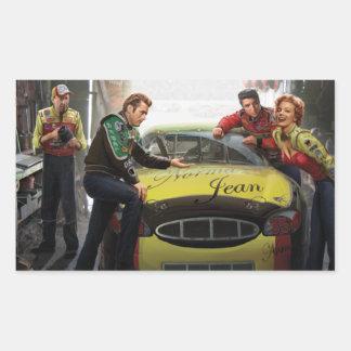 Eternal Speedway Rectangular Sticker