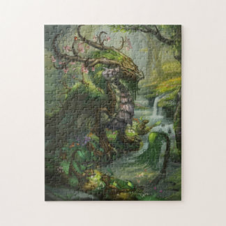 Eternal Spring Dragons Puzzle
