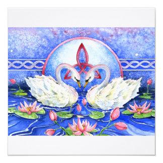 Eternal Swans Card