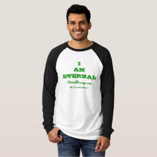 EternalPassage.com I AM ETERNAL Raglan Shirt