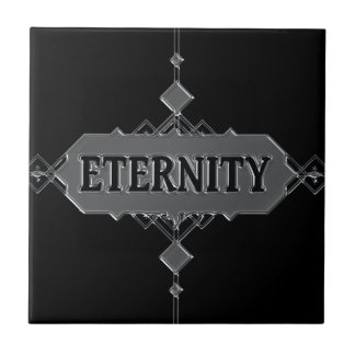 Eternity concept. ceramic tile