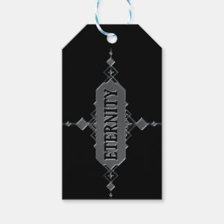 Eternity concept. gift tags