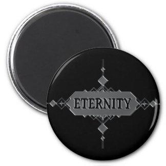 Eternity concept. magnet