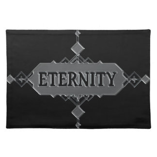 Eternity concept. placemat