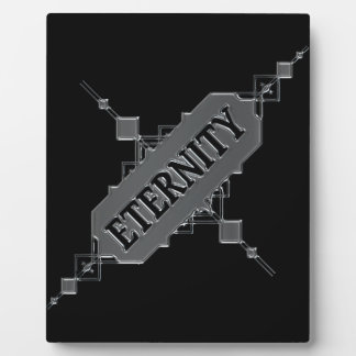 Eternity concept. plaque