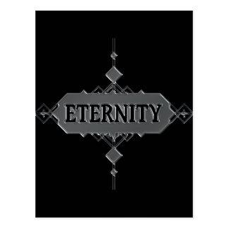 Eternity concept. postcard