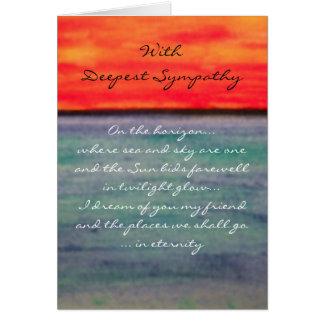 Eternity... Deepest Sympathy Card