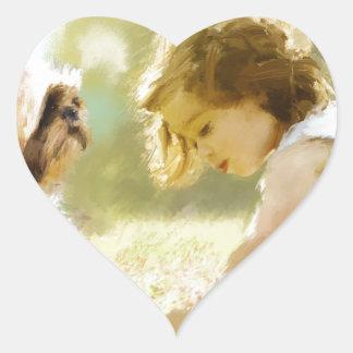 eternity now heart sticker