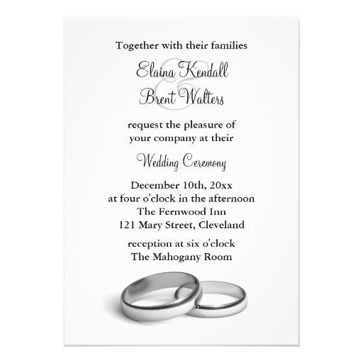 Eternity Wedding Invitation