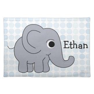 Ethan Elephant Placemat