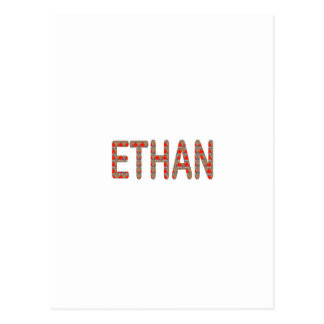 ETHAN nom name STICKERS Shirts n GIFTS NavinJOSHI Postcard