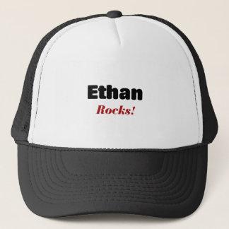 Ethan rocks trucker hat