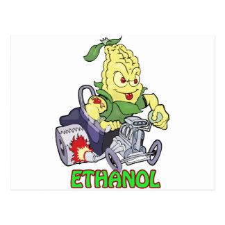 Ethanol Hot Rod Postcard