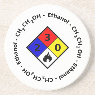 Ethanol MSDS Coaster