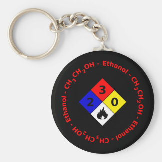 Ethanol MSDS Keychain