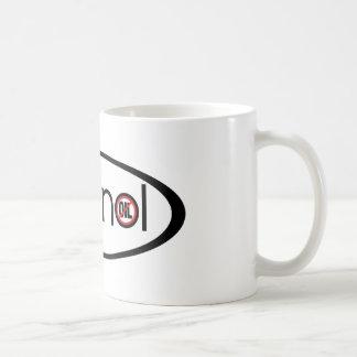 Ethanol - No Oil Basic White Mug