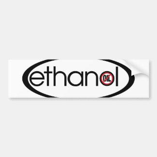 Ethanol - No Oil Bumper Sticker