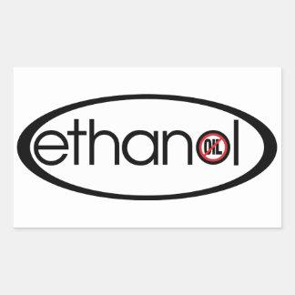 Ethanol - No Oil Rectangular Sticker