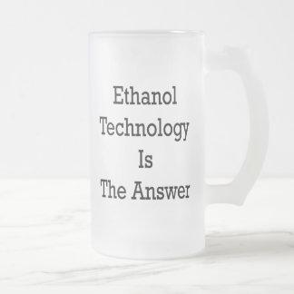 Ethanol Technology Is The Answer Coffee Mug